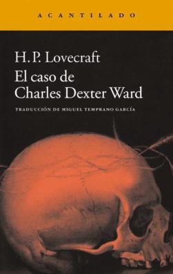 Cubierta del libro El caso de Charles Dexter Ward