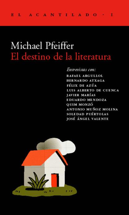 Cubierta del libro El destino de la literatura