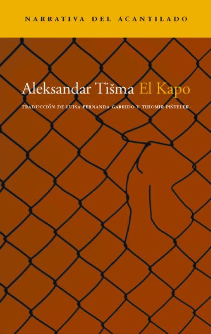 Cubierta del libro El Kapo