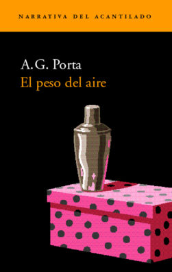 Cubierta del libro El peso del aire