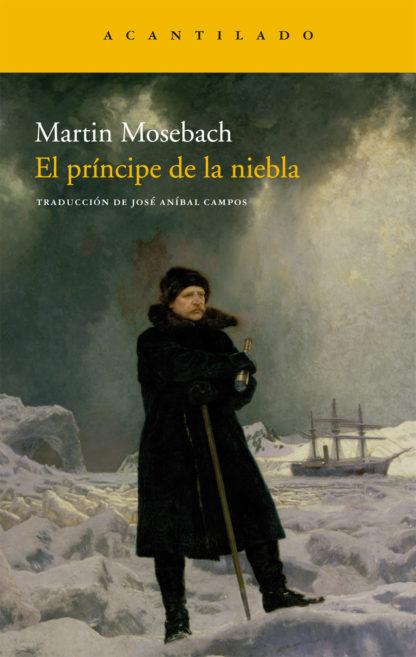 Cubierta del libro El príncipe de la niebla