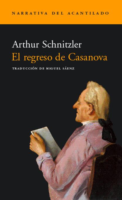 Cubierta del libro El regreso de Casanova