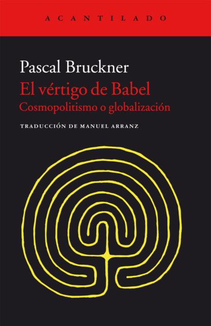 Cubierta del libro El vértigo de Babel