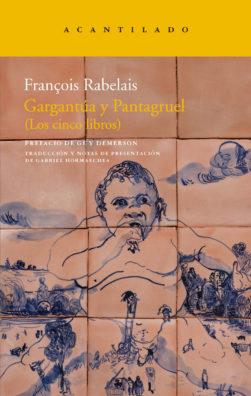 Cubierta del libro Gargantúa y Pantagruel