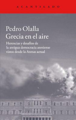 Cubierta del libro Grecia en el aire
