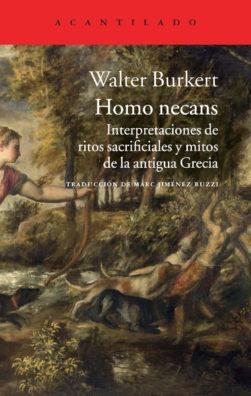 Cubierta del libro Homo necans