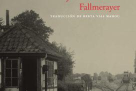 Cubierta del libro Jefe de estación Fallmerayer