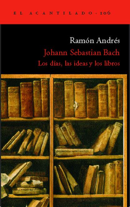 Cubierta del libro Johann Sebastian Bach