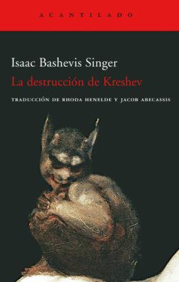 Cubierta del libro La destrucción de Kreshev