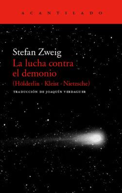 Cubierta del libro La lucha contra el demonio