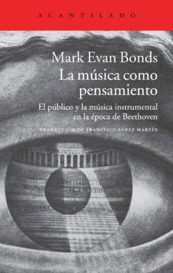 Cubierta del libro La música como pensamiento