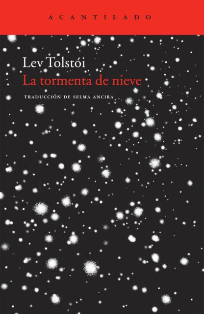 Cubierta del libro La tormenta de nieve