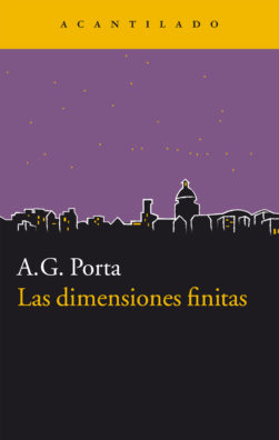 Cubierta del libro Las dimensiones finitas