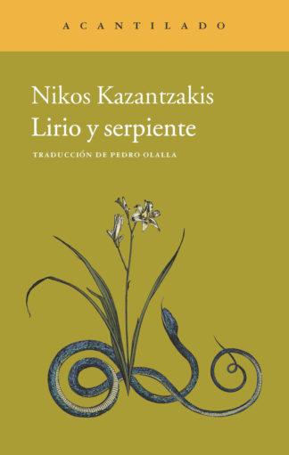 Cubierta del libro Lirio y serpiente