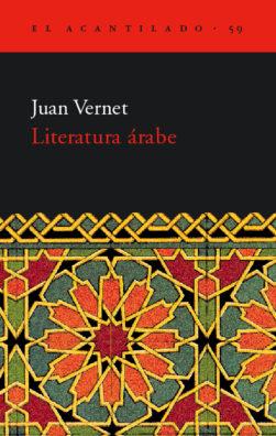 Cubierta del libro Literatura árabe