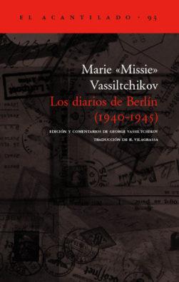 Cubierta del libro Los diarios de Berlín (1940-1945)