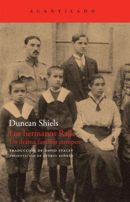 Cubierta del libro Los hermanos Rajk