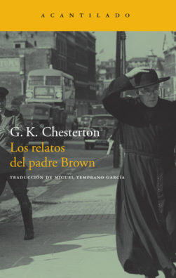 Cubierta del libro Los relatos del padre Brown
