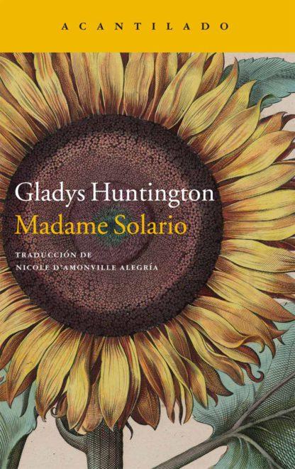 Cubierta del libro Madame Solario