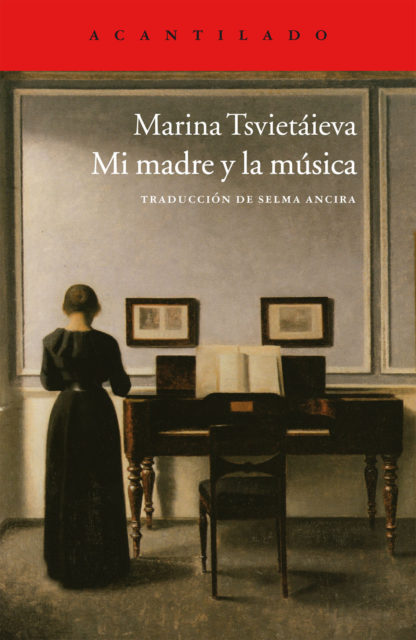 Cubierta del libro Mi madre y la música