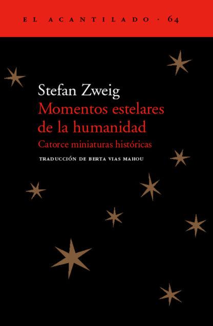 Cubierta del libro Momentos estelares de la humanidad