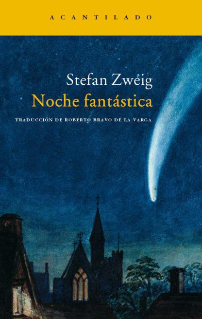 Cubierta del libro Noche fantástica