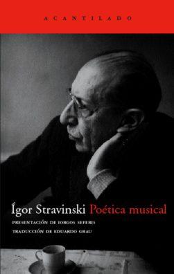 Cubierta del libro Poética musical