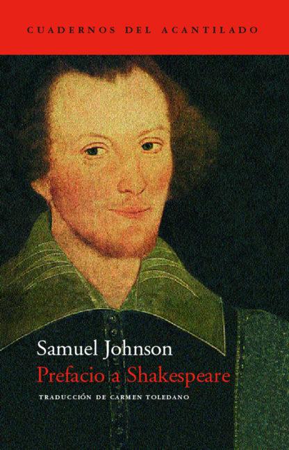 Cubierta del libro Prefacio a Shakespeare