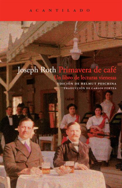 Cubierta del libro Primavera de café