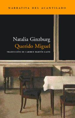 Cubierta del libro Querido Miguel
