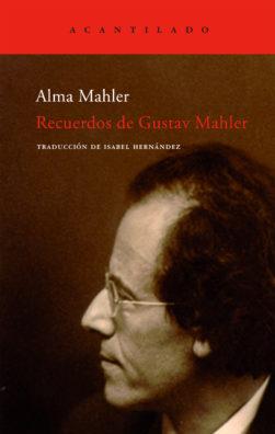 Cubierta del libro Recuerdos de Gustav Mahler