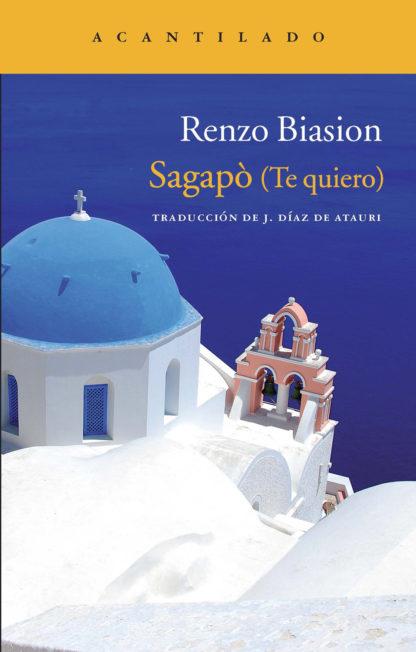 Cubierta del libro Sagapò (Te quiero)