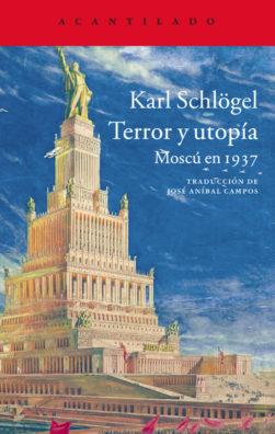 Cubierta del libro Terror y utopía