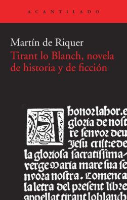 Cubierta del libro Tirant lo Blanch