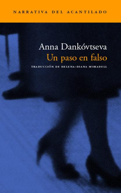 Cubierta del libro Un paso en falso